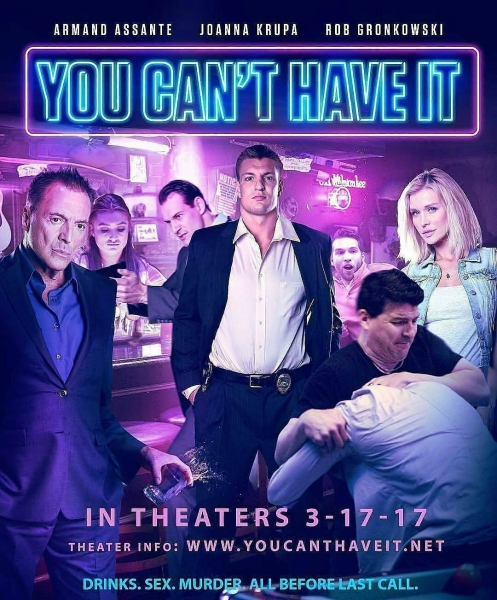 """Plakat promujący film """"You Can'T Have It"""""""