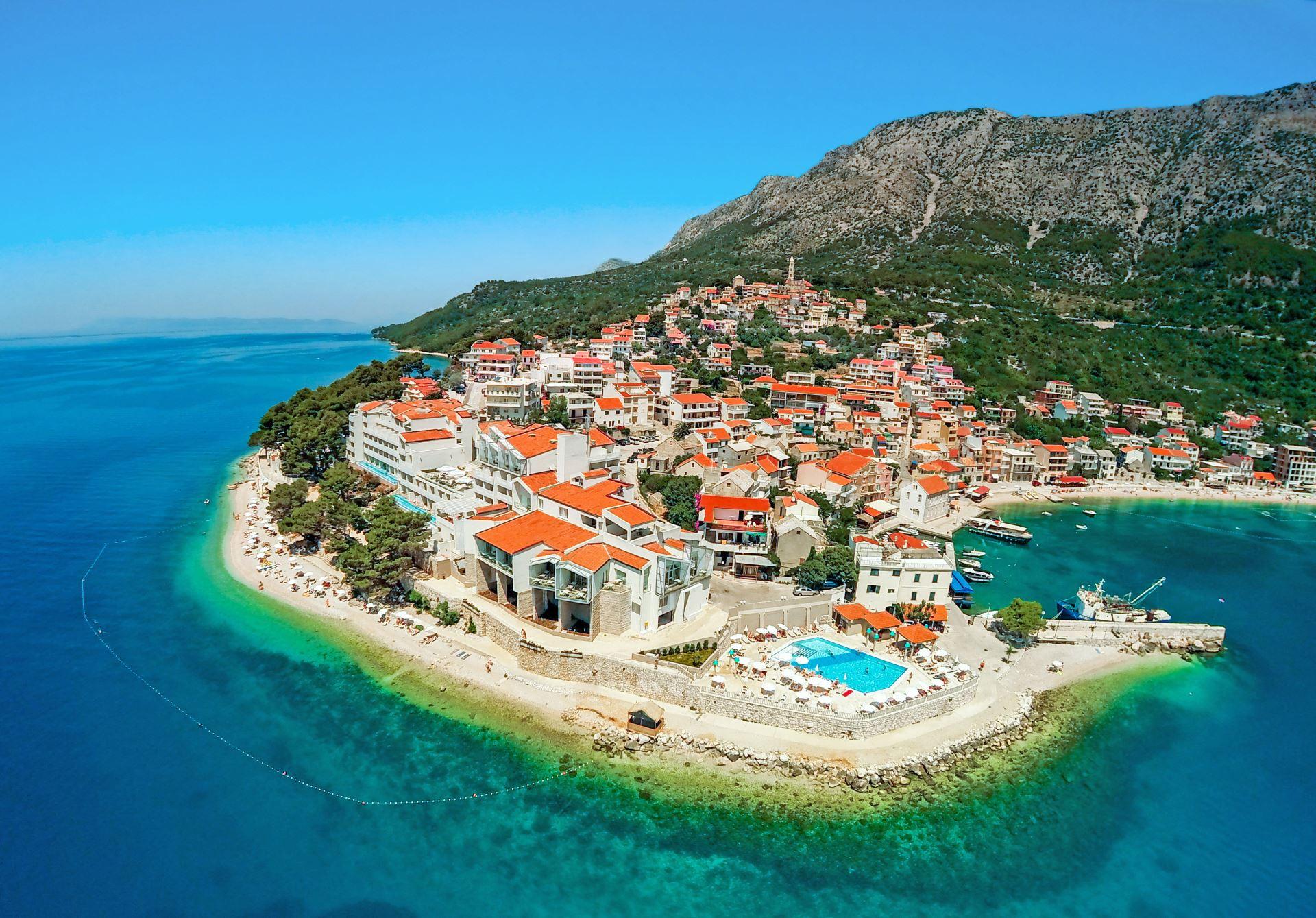 TUI SENSIMAR Makarska - Dalmacja Chorwacja - opis hotelu ...