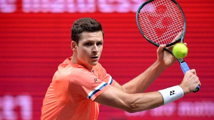 ATP w Kolonii: Hubert Hurkacz odpadł w ćwierćfinale. Doświadczony Hiszpan za mocny