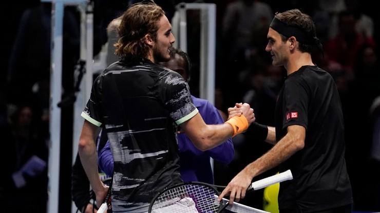 ATP Finals: Tsitsipas wyeliminował w półfinale Federera